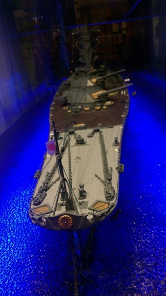 Yamato, un jour de janvier 1945 Modèle RC au 1/150 dans sa vitrine d'exposition - Page 5 Wp_20553