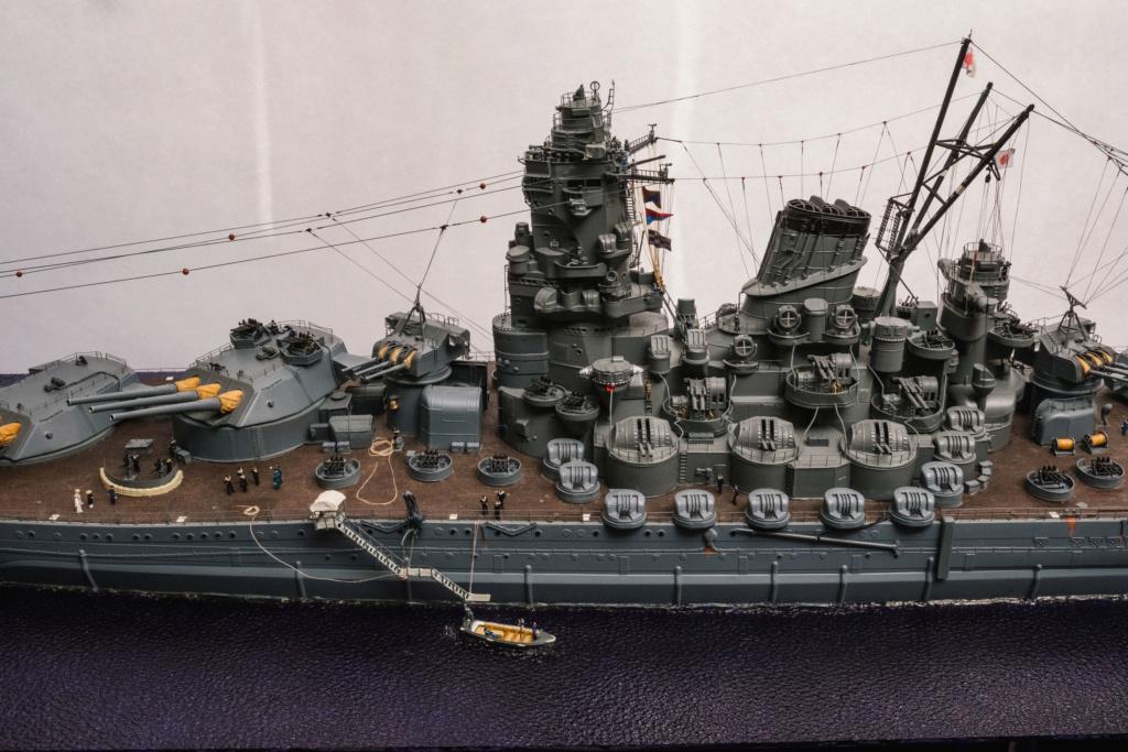Yamato, un jour de janvier 1945 Modèle RC au 1/150 dans sa vitrine d'exposition - Page 3 Yamato42