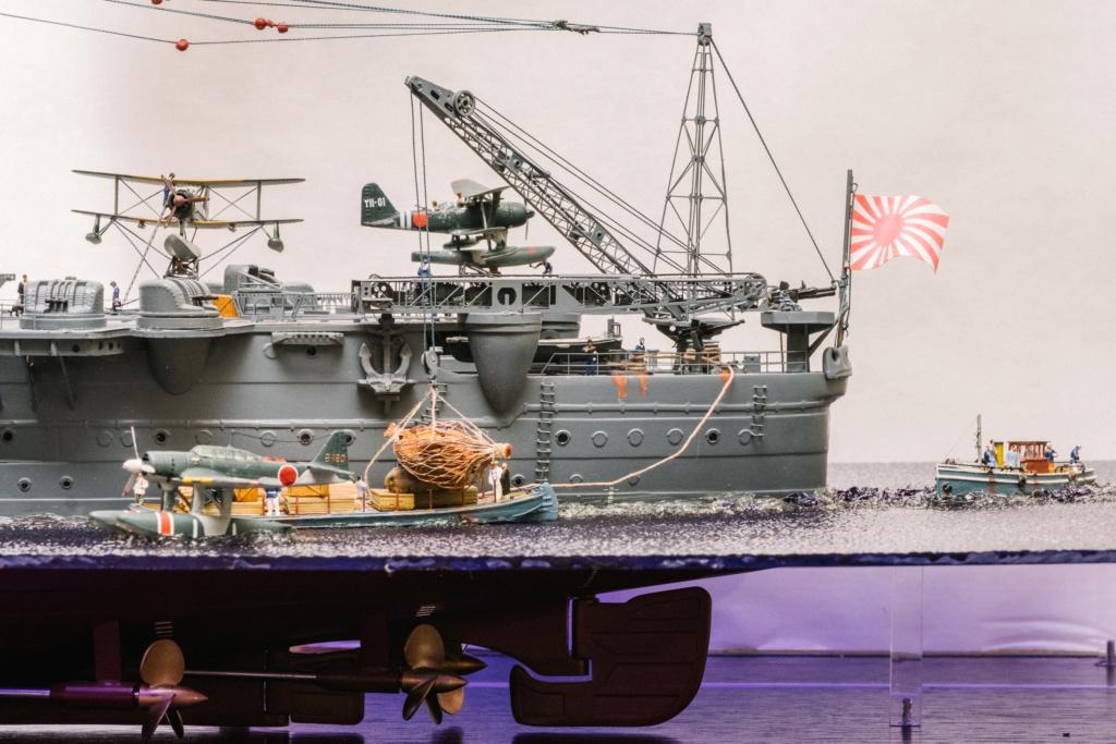 Yamato, un jour de janvier 1945 Modèle RC au 1/150 dans sa vitrine d'exposition - Page 3 Yamato43