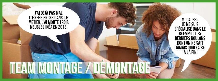 La team Montage / Démontage Banniz11