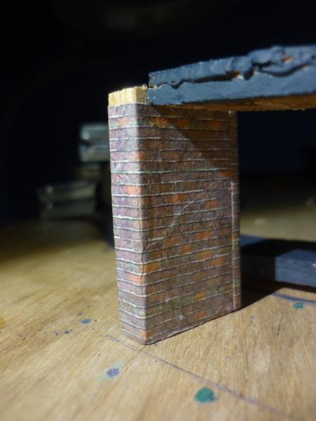 Batiments et autres structures imprimés en papier P1080322