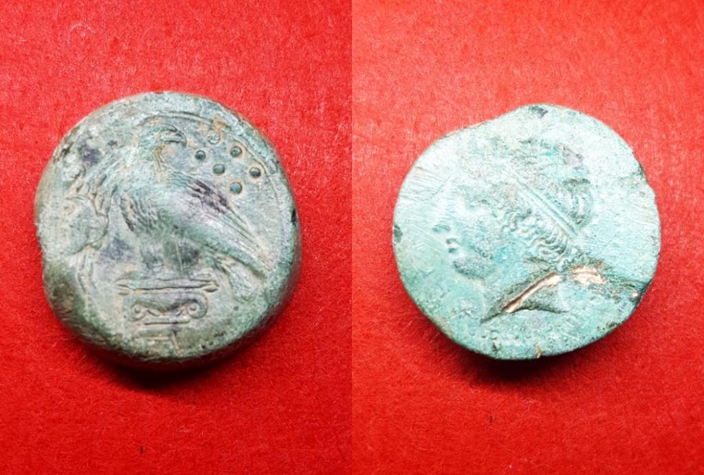 Hemilitron de Akragas. 400-380 a. C. 20190110