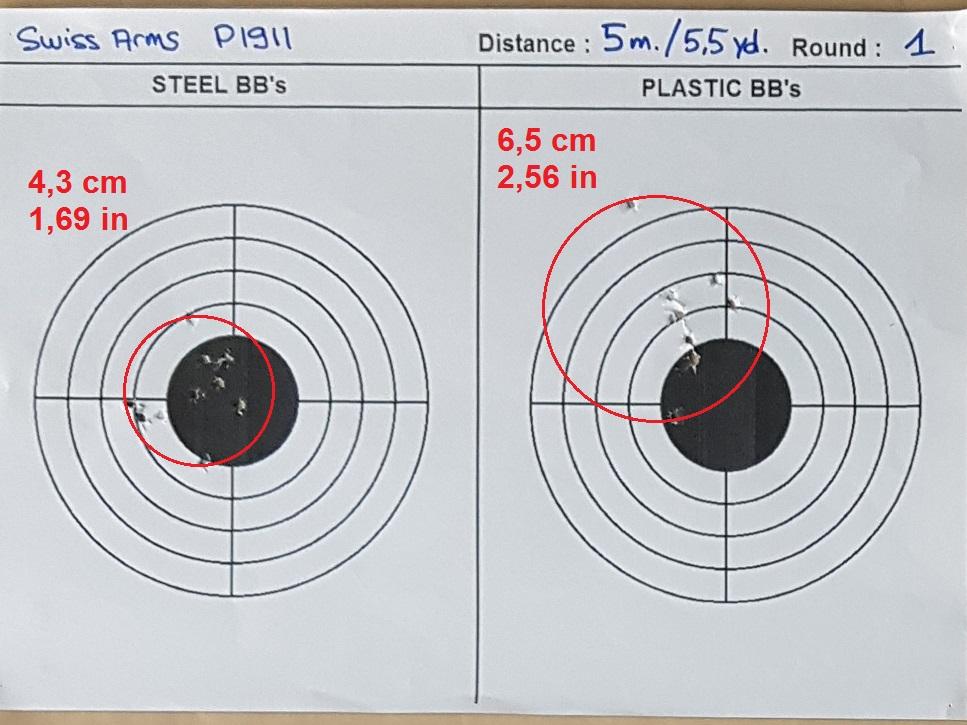 Tests des billes plastique 4,5mm ASG Blaster 0131