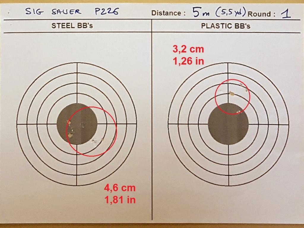 Tests des billes plastique 4,5mm ASG Blaster 0132