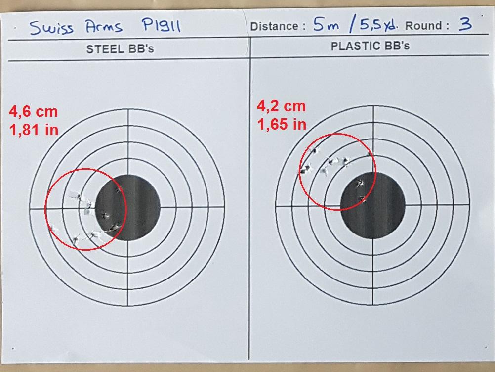 Tests des billes plastique 4,5mm ASG Blaster 0319