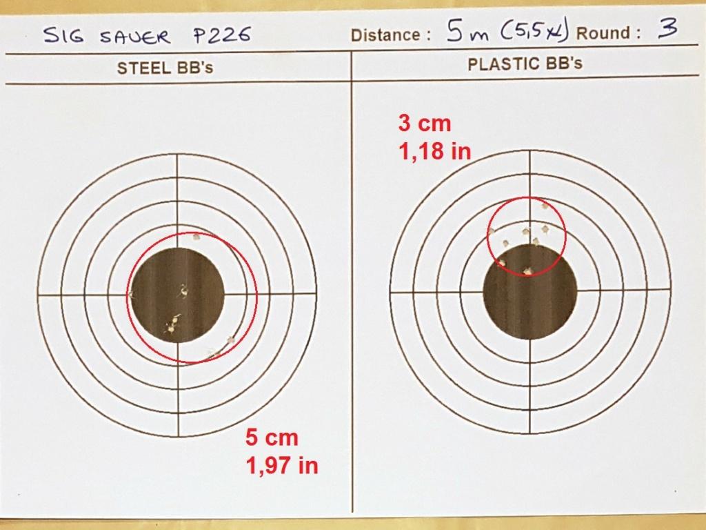 Tests des billes plastique 4,5mm ASG Blaster 0320