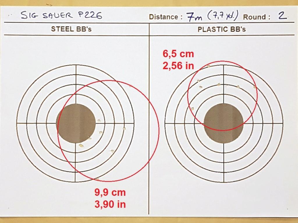 Tests des billes plastique 4,5mm ASG Blaster 0514