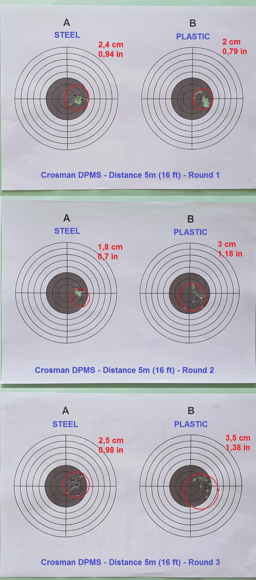 Tests des billes plastique 4,5mm ASG Blaster - Page 2 G110