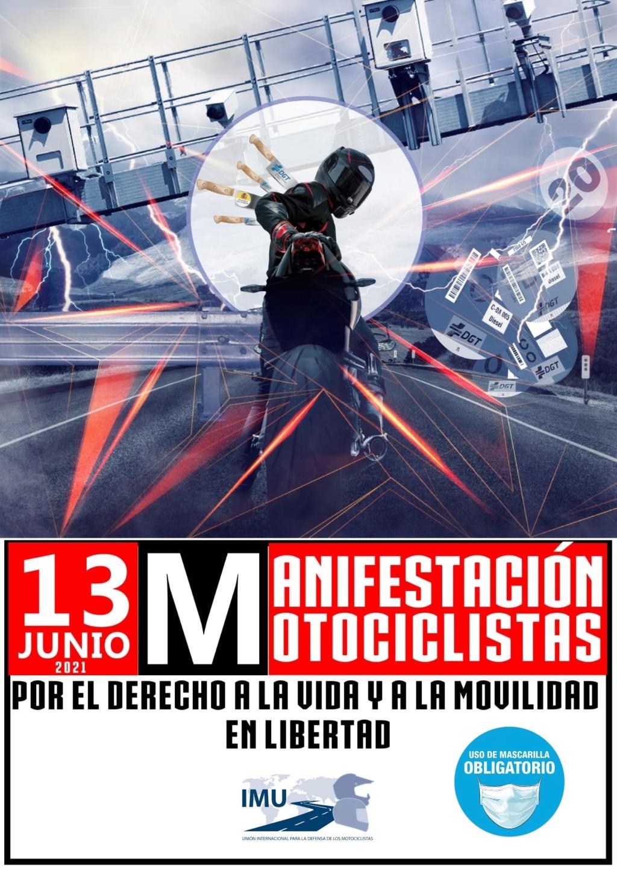 CONCENTRACION / MANIFESTACION por el derecho a la vida y a la movilidad en libertad. Cartel10