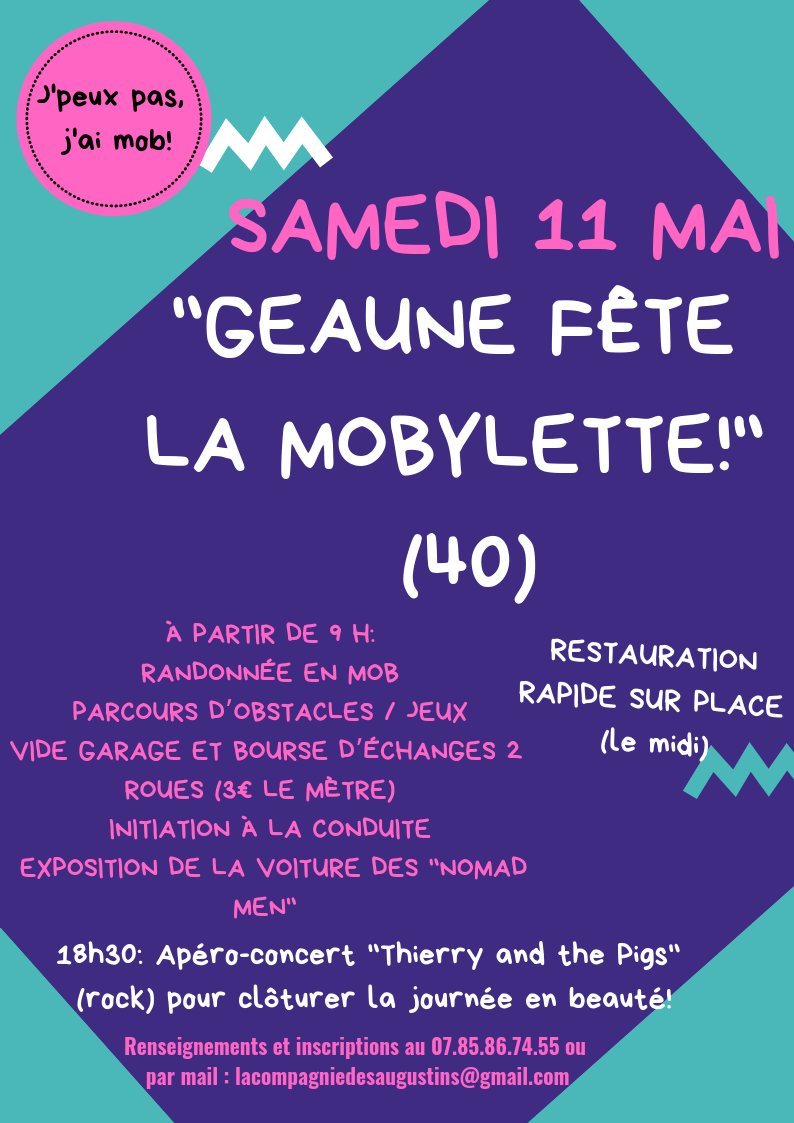 Journée de la mobylette a Geaune 753c7b10