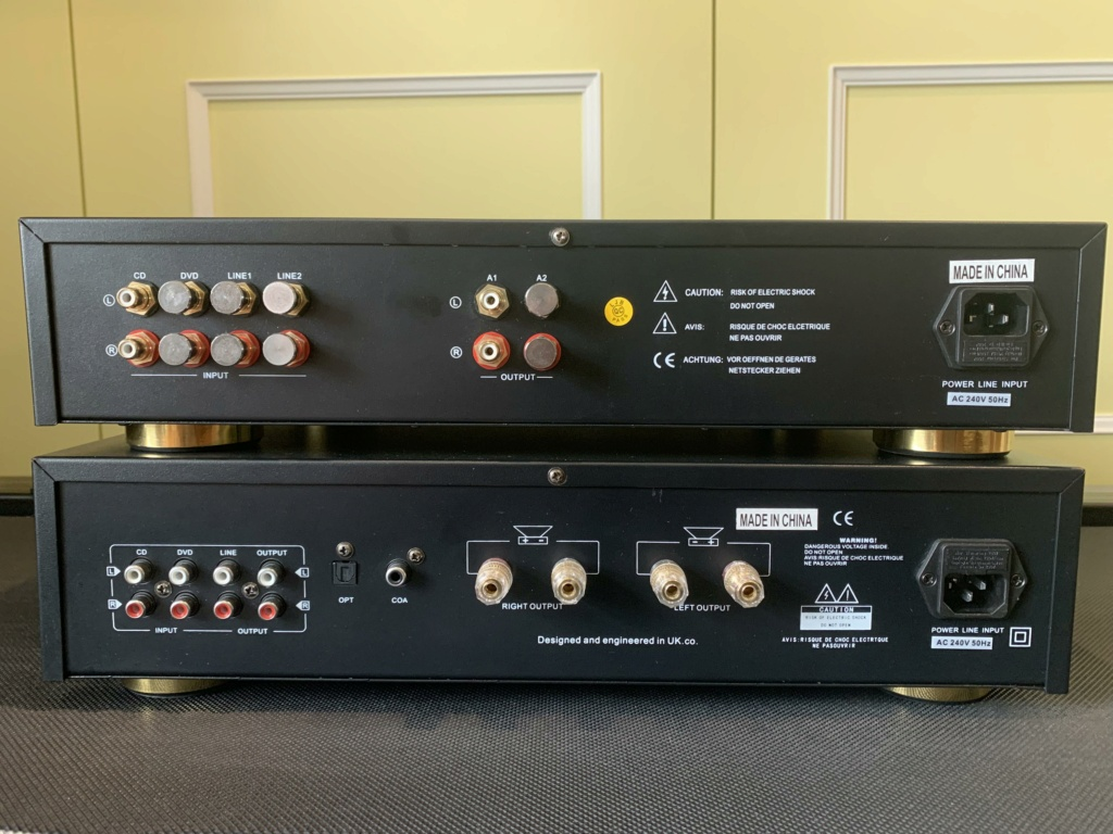 SoundArtist Tube Pre and Solid State Power Amps Img_1317