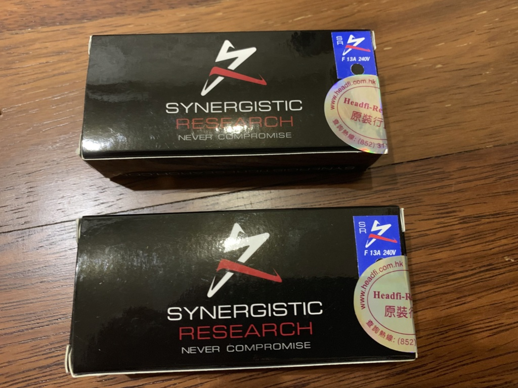 Synergistic Research Blue Fuse Img_4028