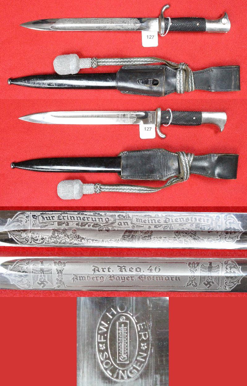 Dague allemande identification 127a10
