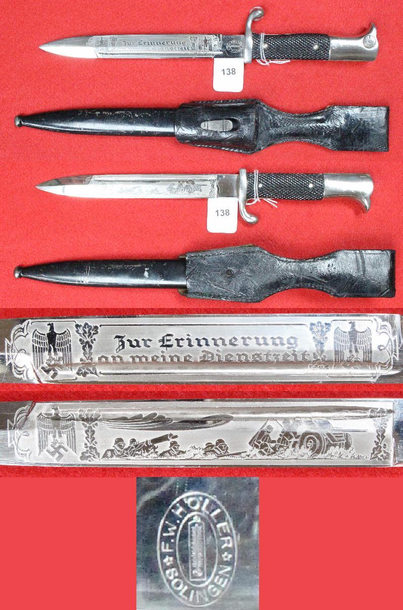Dague allemande identification 138a10