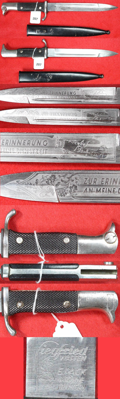 Dague allemande identification 207a10