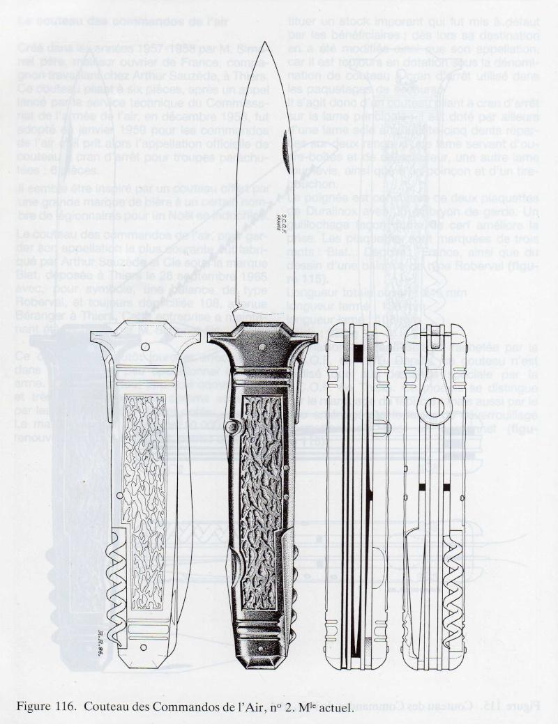 COUTEAU DES COMMANDOS DE L'AIR. Fabrication S.C.O.F 2yme_m11