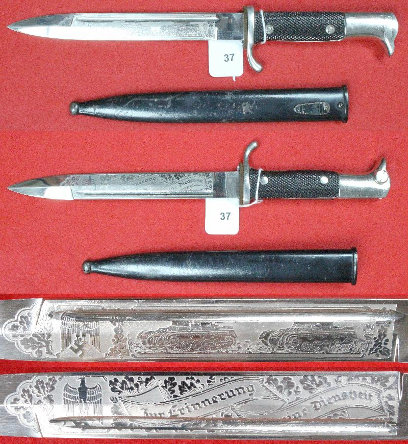 Dague allemande identification 37a10