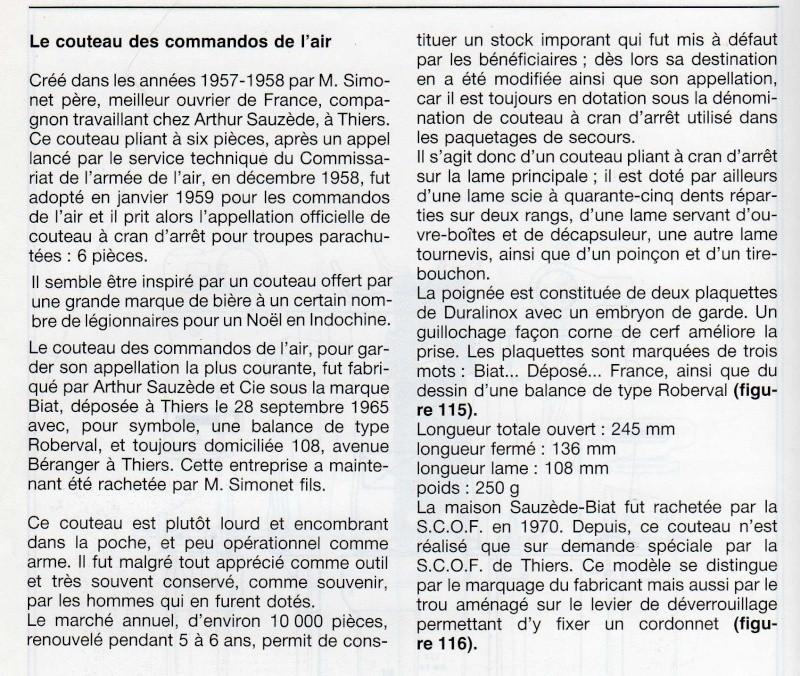 POUR AIDER POUR LES POIGNARDS FRANCAIS DE 1833 à 2000  - Page 2 Coutea10