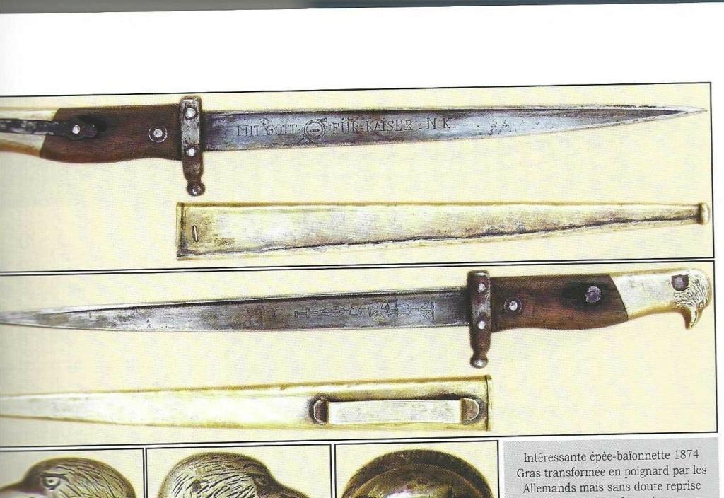 baïonnette (gras) 1874 pour fusil  Gewehr 1888 ?????? Gras_110