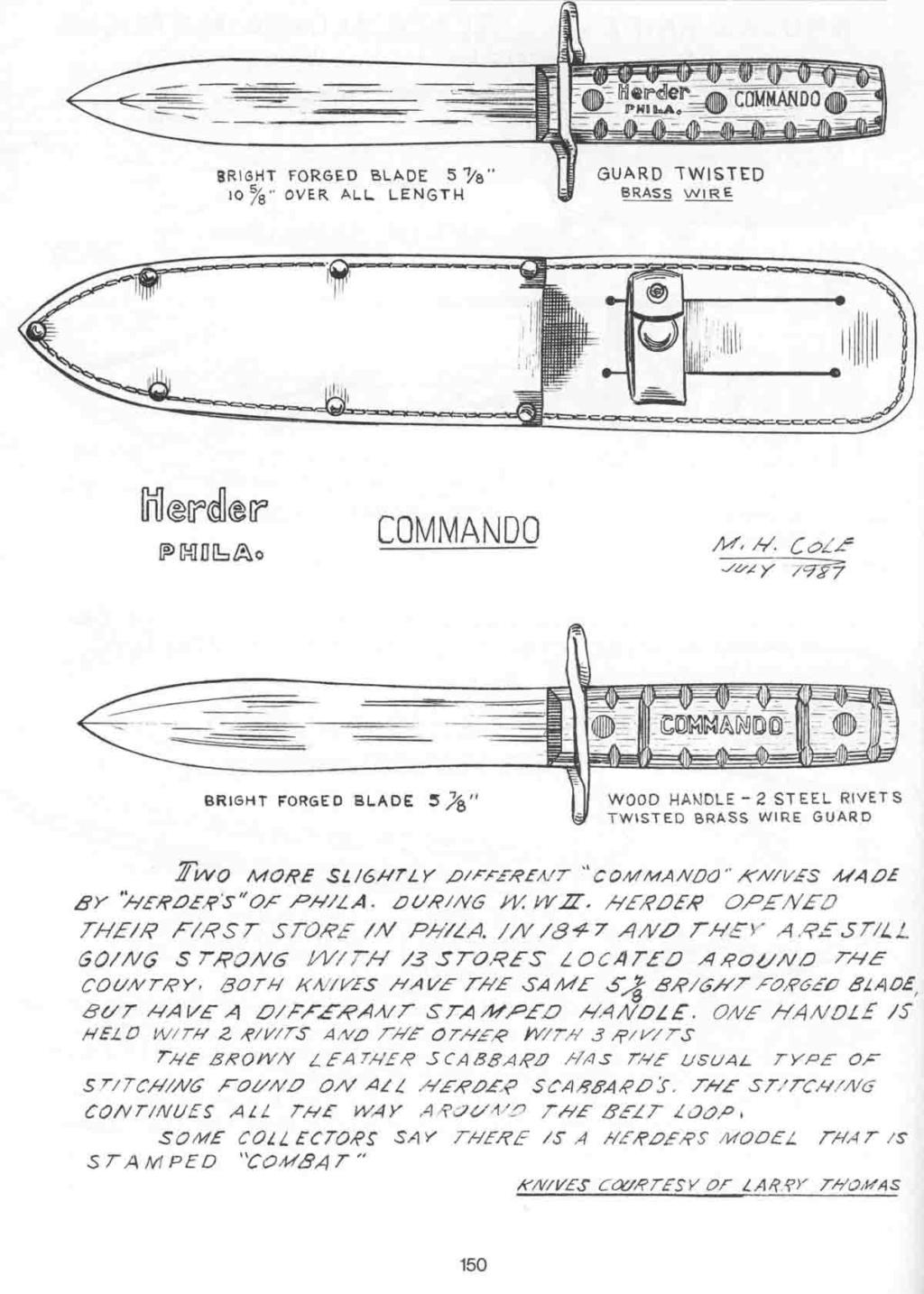 POIGNARD WW2 AMERICAIN PAS COURANT Post-413