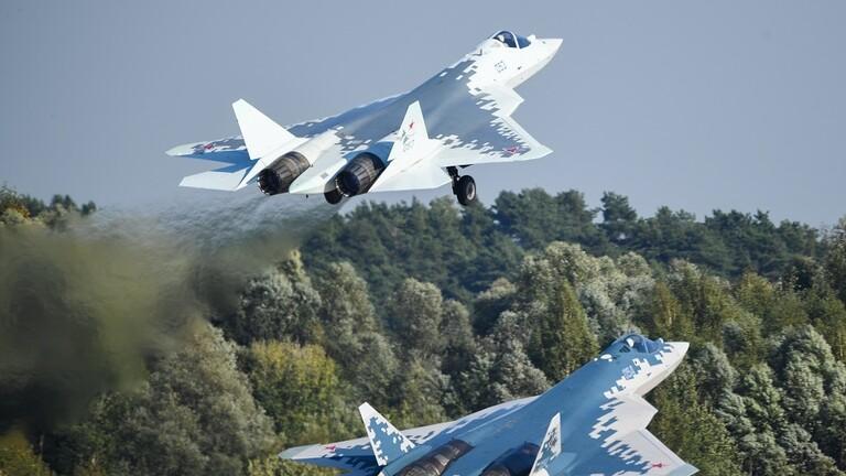 اول مقاتله Su-57 من الانتاج التسلسلي ستسلم للقوات الجويه الروسيه قبل نهايه العام 2019 Su_5711