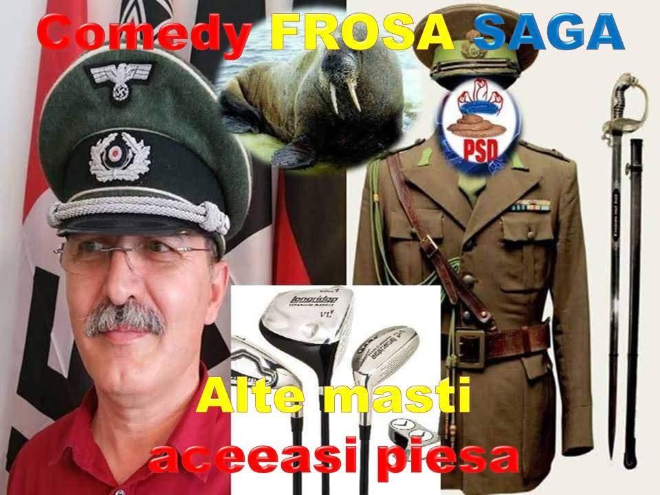 MORSA DECREPITĂ plonjînd de pe banchiză în FROSA SAGA Comedy12