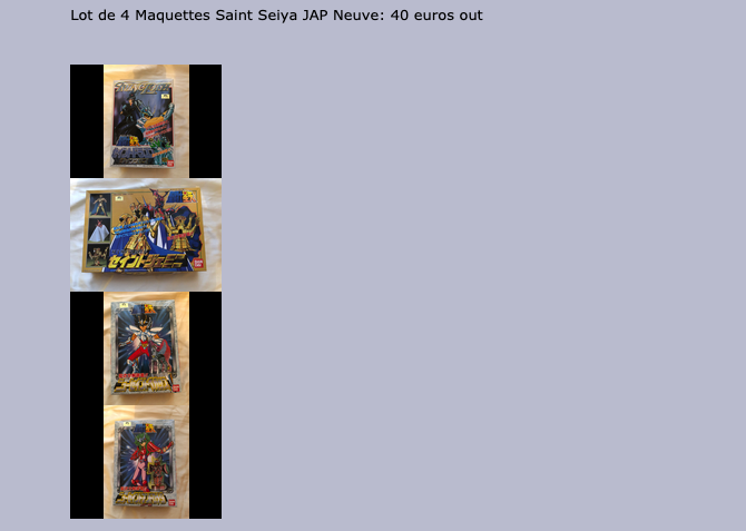 (VDS) Playstation, Nintendo, Figurines, Myth cloth, Goodies, etc... - Page 2 Screen10
