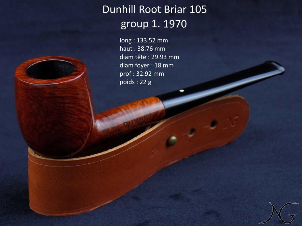 [VDS] Dunhill Root Briar 105 group 1 - 1970 - Baisse de prix Receiv17