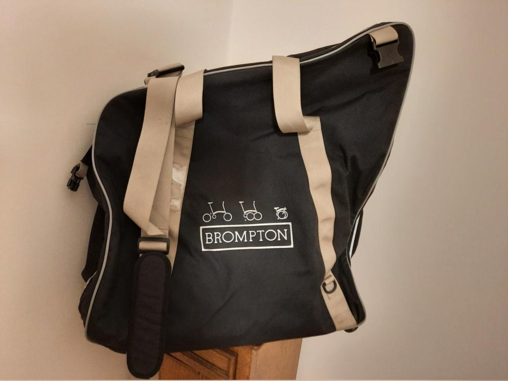 (vendu) Travel bag (B), Brompton 20210114