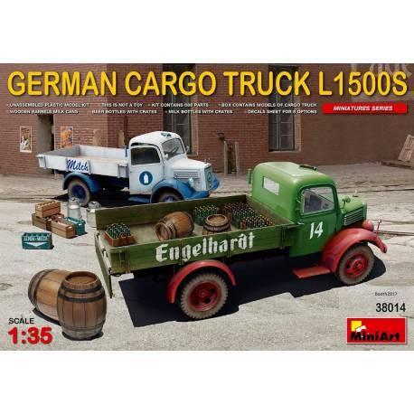 [MINIART] MERCEDES L1500S 1/35ème Réf 38014  German12