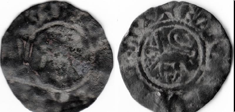 Dinero pepión Alfonso X o Fernando IV 035b_f10