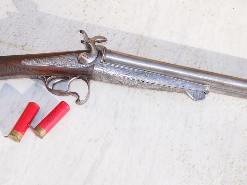 Restauration Fusil Lefaucheux cal 16 57843010