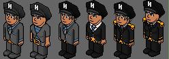 Modification de l'uniforme THG PN 111