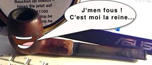 Quand je fume ma pipe  Illustration Brase d'Anjou Totoch11