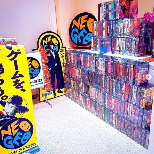 Hi my collection Neogeo12