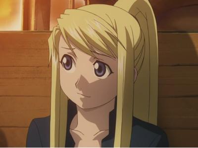 Qual sua personagem feminina favorita de todos animes? Winry_10