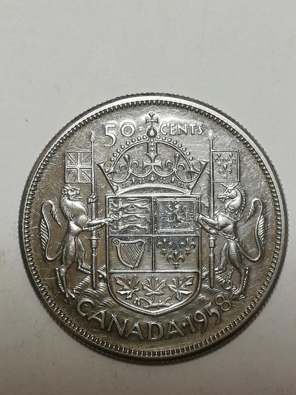 50 cents. 1958 Canadá.  Img_2016