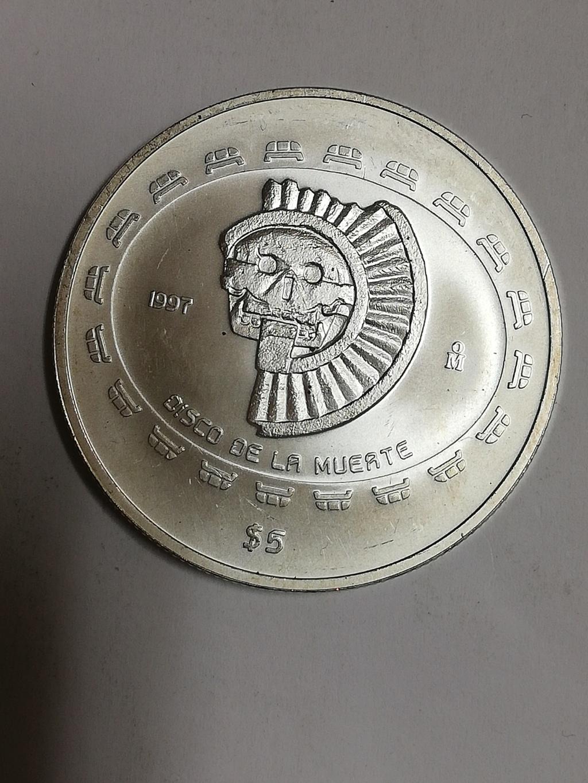 5 pesos, 1997.disco de la muerte. México  Img_2017