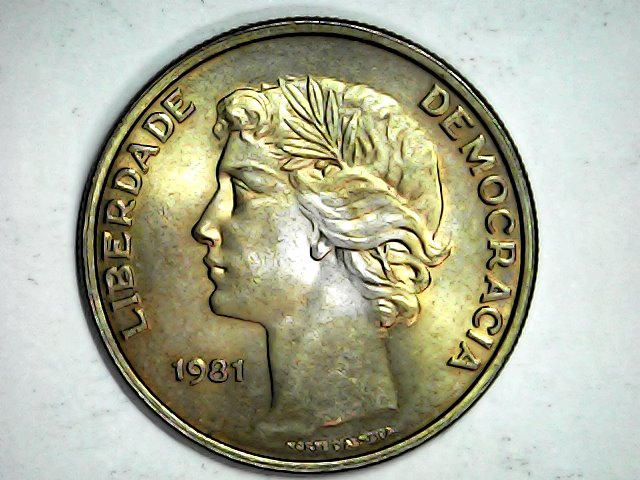 Pátina 25 escudos 1981,Portugal Mon_fe20