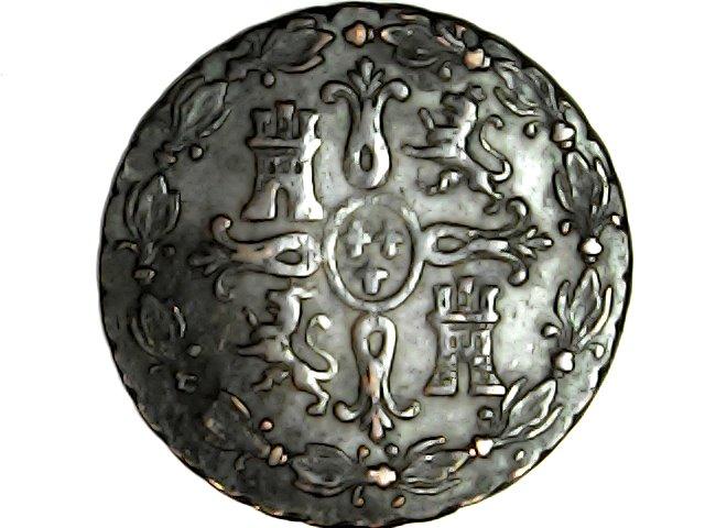 Fernando Vll. 8 maravedis Segovia 1830 Sat_ap16