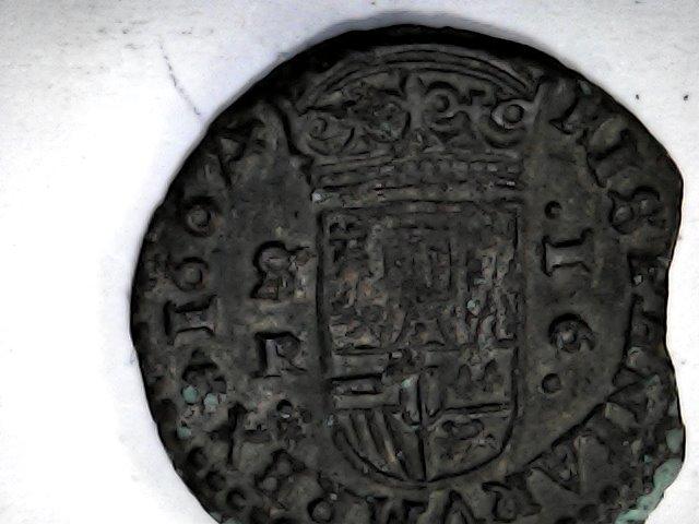 """Felipe llll ,16 maravedis de 1664......el 4 """"tumbao"""", de Sevilla. Sat_de31"""