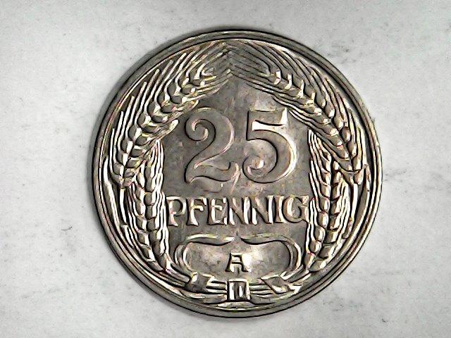 25 pfennig de 1910 A. Imperio Alemán. Sat_ja65