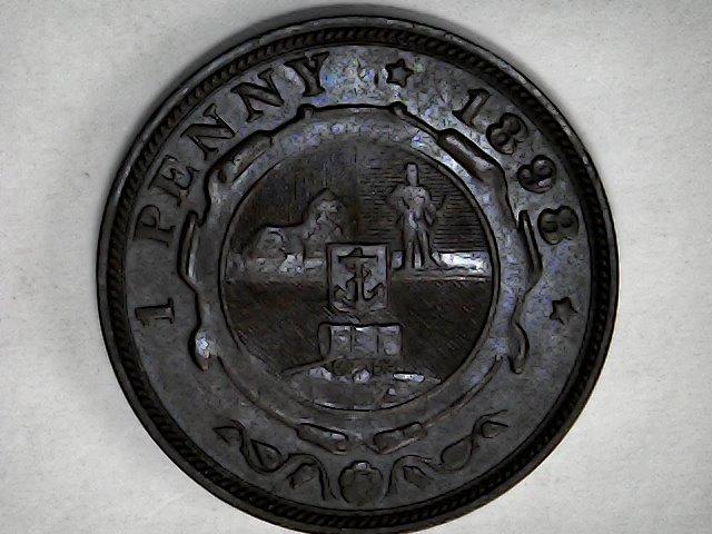 1 penny 1898.Rep.Sudafrica Sun_ja24