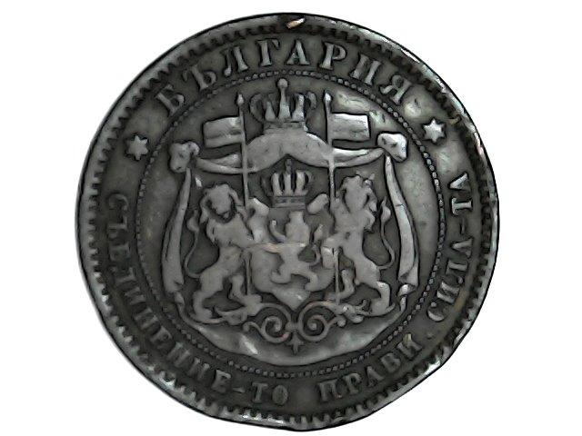 10 Stotinski de 1881. Bulgaria. Tue_ja20