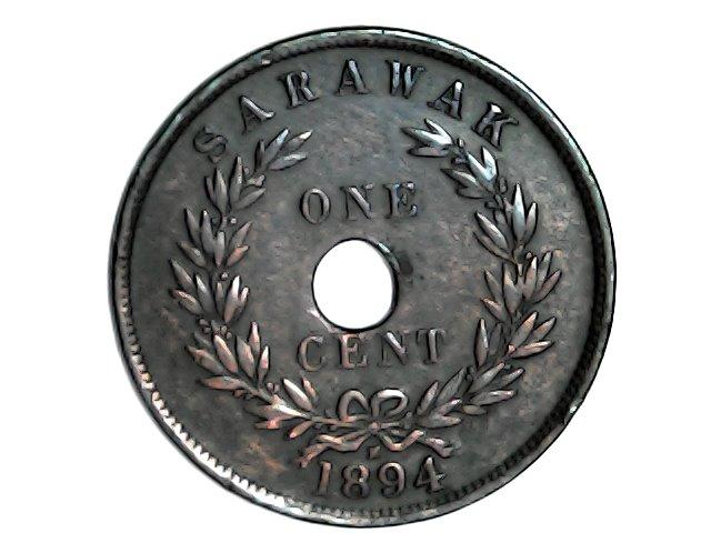 1 cent. de Sarawak.1894 Tue_ja23