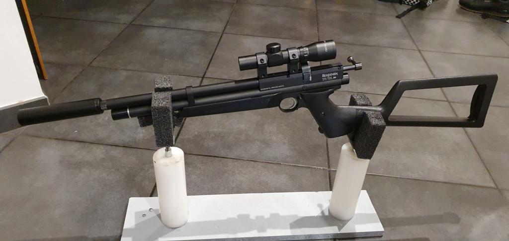Mon pistolet benjamin Maraudeur  20201110