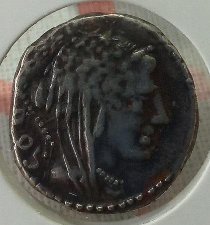 Denario de la gens Rubria. L RVBRI. Carroza triunfal a dcha. Roma. Img_2068