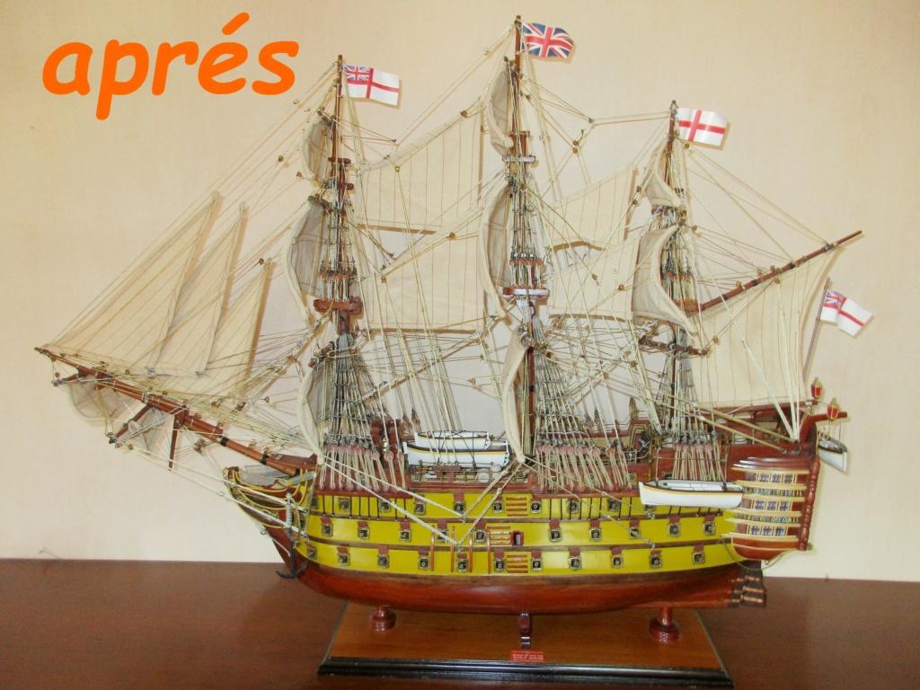 HMS Victory 1765 (amélioration) par ACRUB31 0612