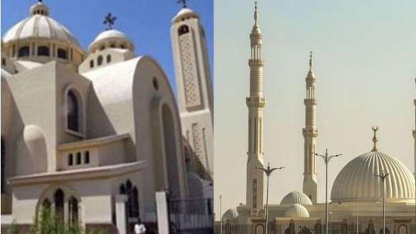 غلق مساجد وكنائس في 3 محافظات بسبب الموجة الرابعة لفيروس كورونا 18124310