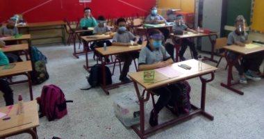 التعليم توجه المدارس بتقليل الكثافة داخل الفصول لتحقيق التباعد بين الطلاب 20200913